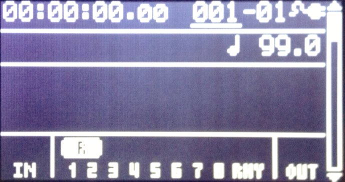 【BOSS BR-80】カノンロックをつくる 楽曲管理画面