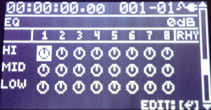 【BOSS BR-80】カノンロックをつくる イコライジングで調整する