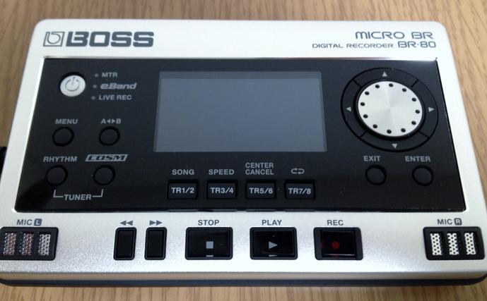 【BOSS BR-80】カノンロックをつくる 使用機材
