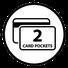 Integrierte Kartenfächer