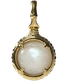 A treasure ball that prays at the sacred place Utaki in Okinawa  Blue Moonstone Power stone Pendant Necklace