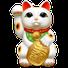 statuette maneki neko nom japonais pour chaton