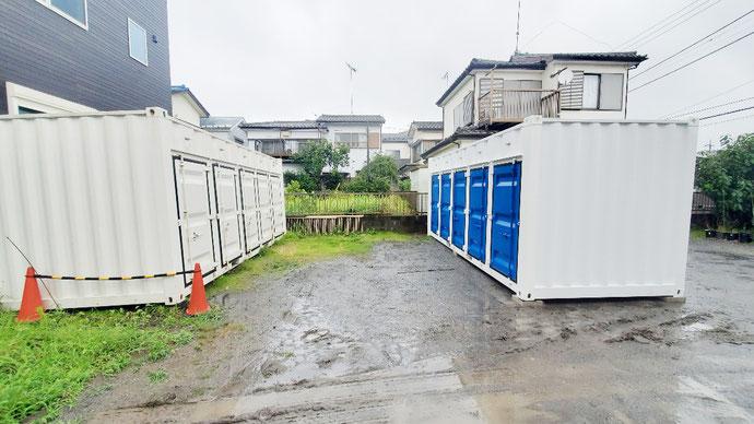 三重県名張市 中古コンテナ20ft現状品設置