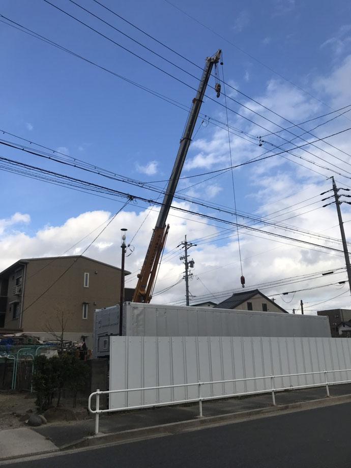 岐阜県瑞穂市 中古コンテナ20ft現状品納品