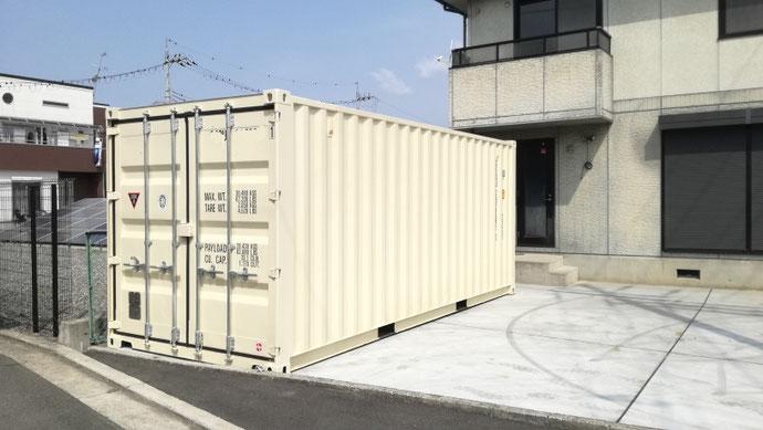 大阪府堺市 NEWVANコンテナ20ft設置