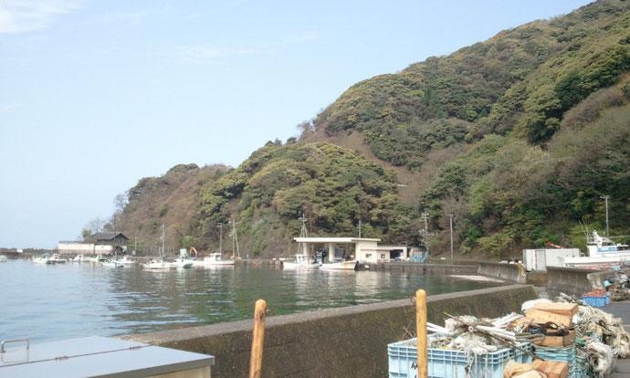 中古コンテナ20ft 福井県三方郡 若狭湾の漁港