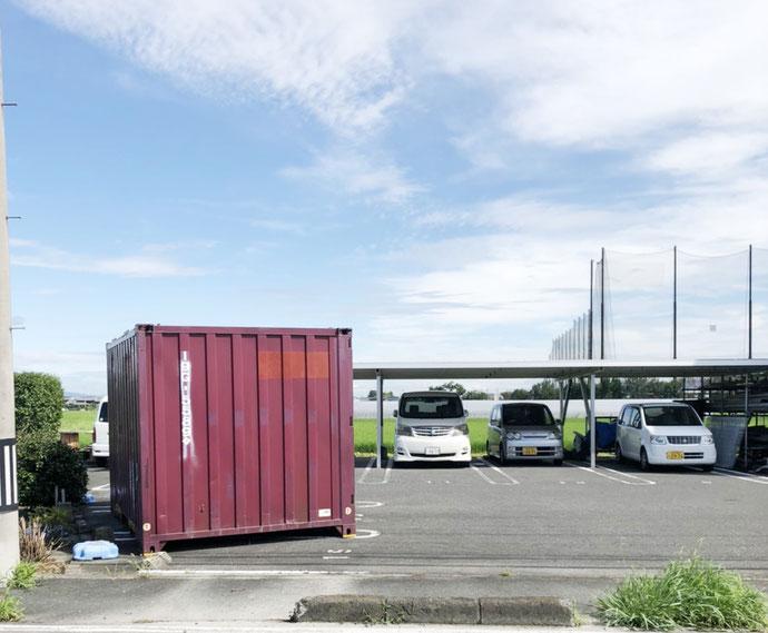 奈良県 中古貨物コンテナ12ft現状品納品