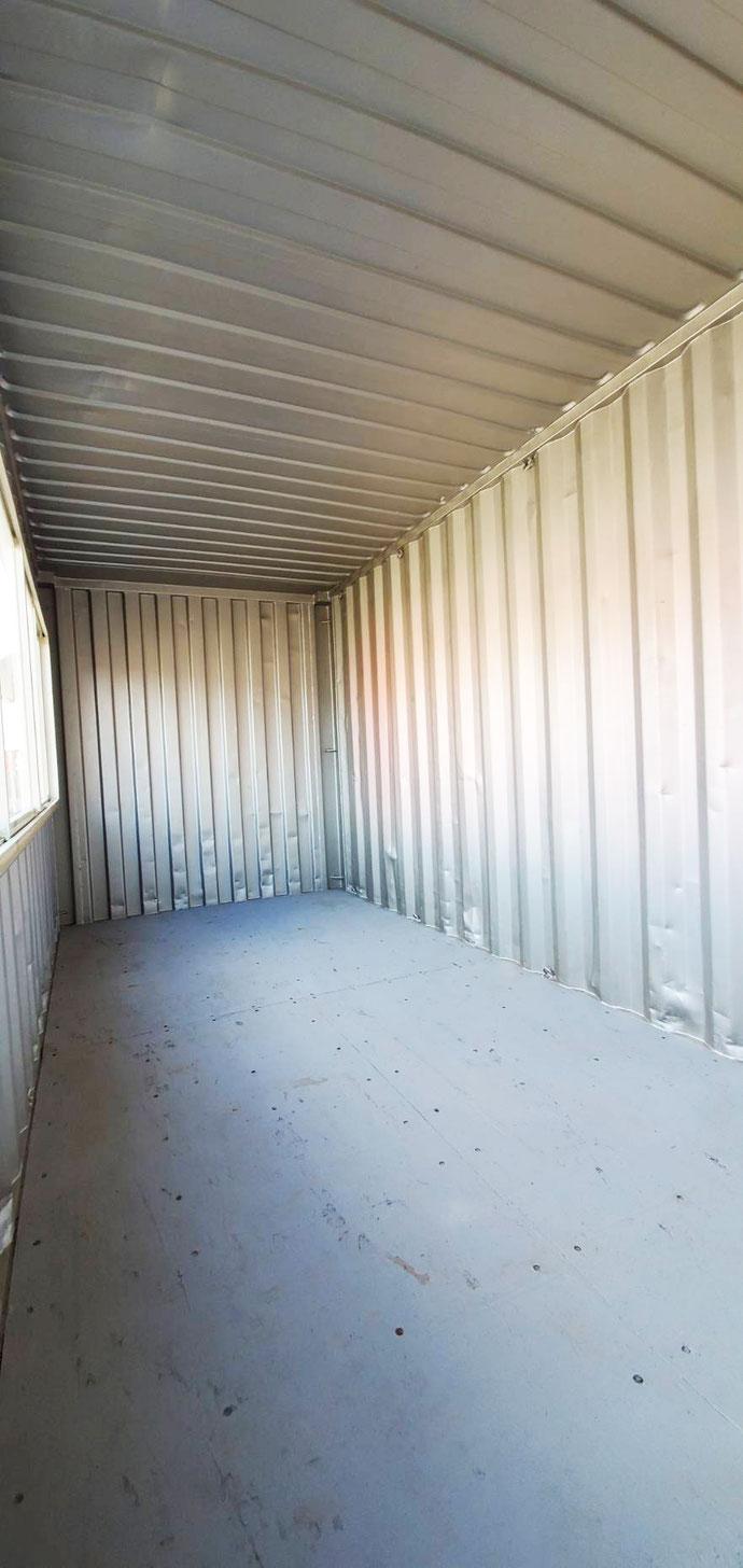 窓・ドア付 20フィートコンテナハイキューブ(中古/ブラック)