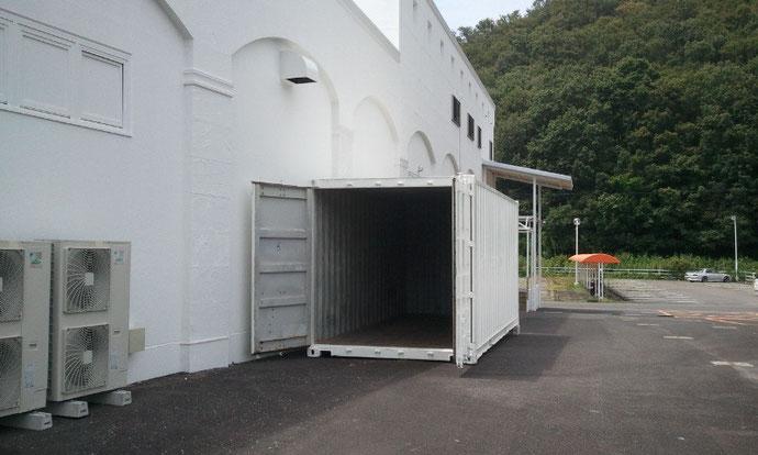 岐阜県各務原市 中古コンテナ40ft-HC(ハイキューブ)20ft