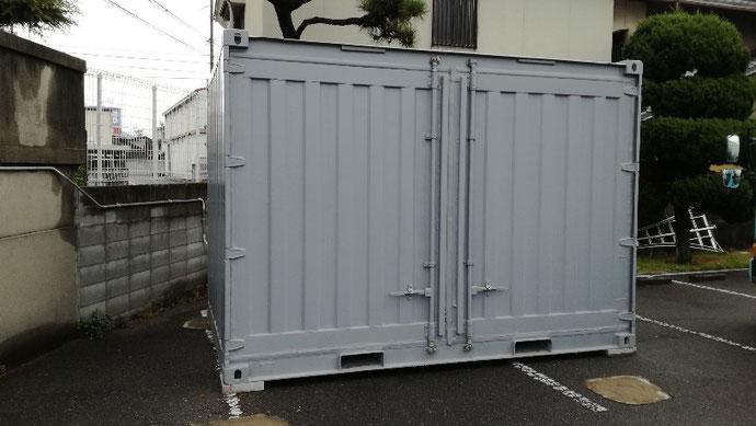 岐阜県高山市 中古コンテナ20ft現状品×2納品