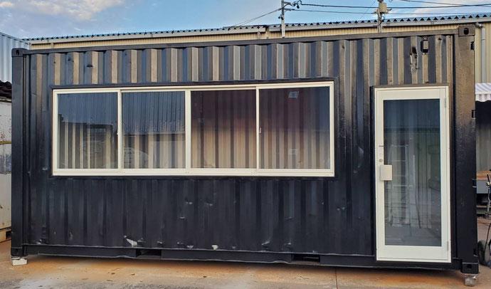 岐阜愛知中古販売名古屋中古コンテナ改造ドア窓海上コンテナハウス