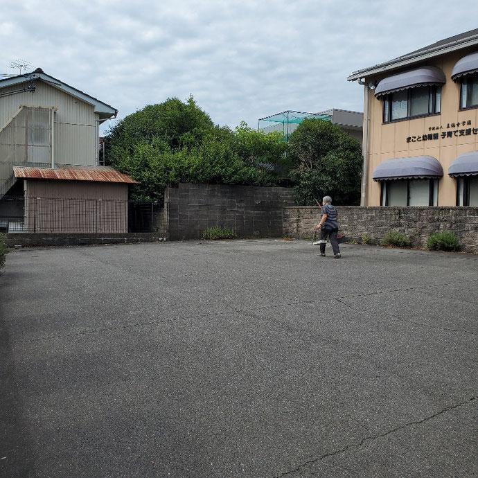 岐阜県大垣市 中古コンテナ20ft現状品設置