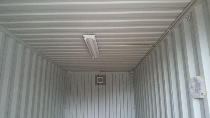 三重県名張市 桜ヶ丘区 20ftニューバン グレー塗装 電気工事納品