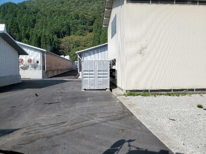 大野郡 白川村 中古 コンテナ 20ft シャッター
