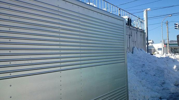 福井県敦賀市 M社様 中古2tアルミコンテナ納品