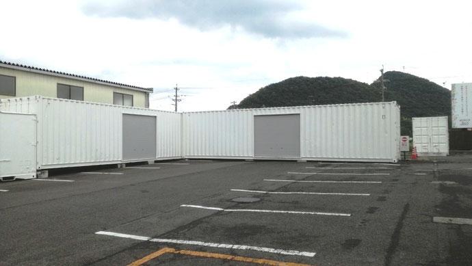 岐阜県各務原市 中古貨物コンテナ12ft納品