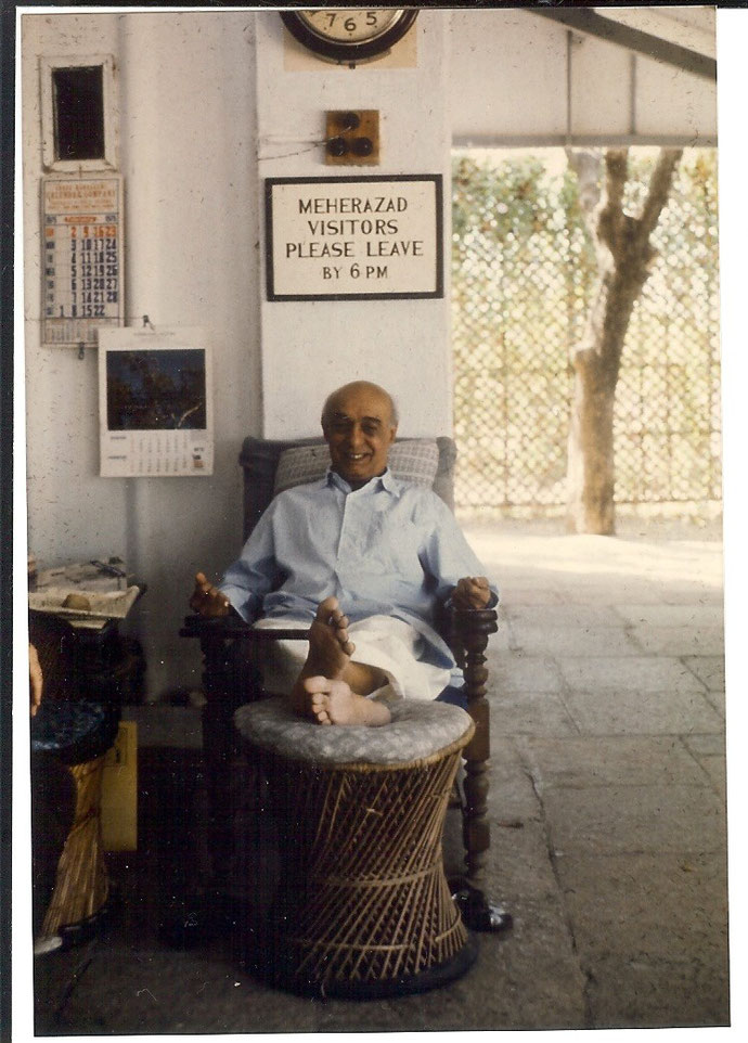 Pendu Irani - photo taken by Anthony Zois - Meherazad, January 1975