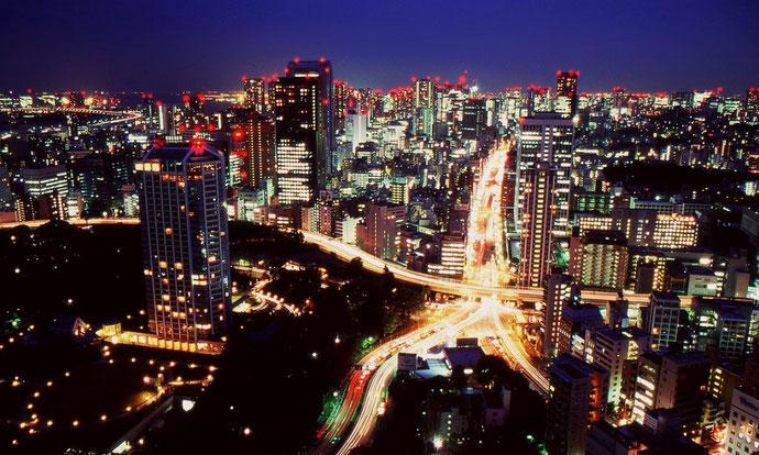 Tokyo, verdens største by med næsten 38 millioner indbyggere (inkl. forstæder)