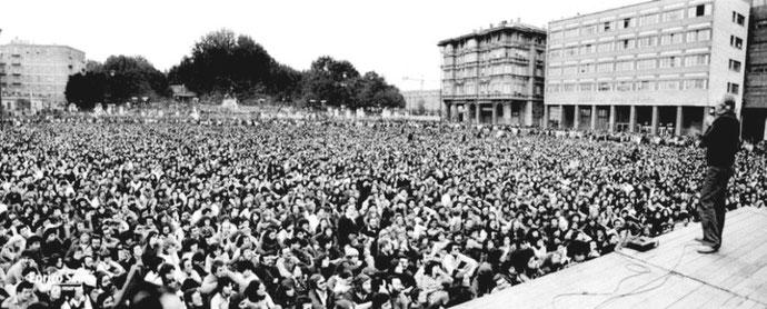 Den autonome bevægelses anti-repressionskongres i Bologna, den 23. - 25. september 1977