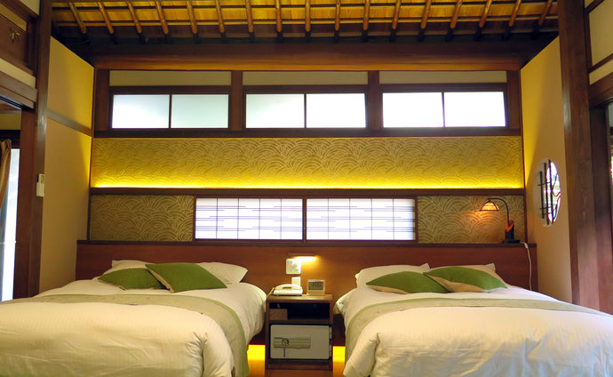 贅沢に造られた離れの部屋をリフォーム 和モダンタイプの部屋がまた一つ増えました。(1~6名様まで)