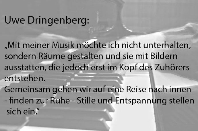 Komponist, Klavierlehrer Uwe Dringenberg