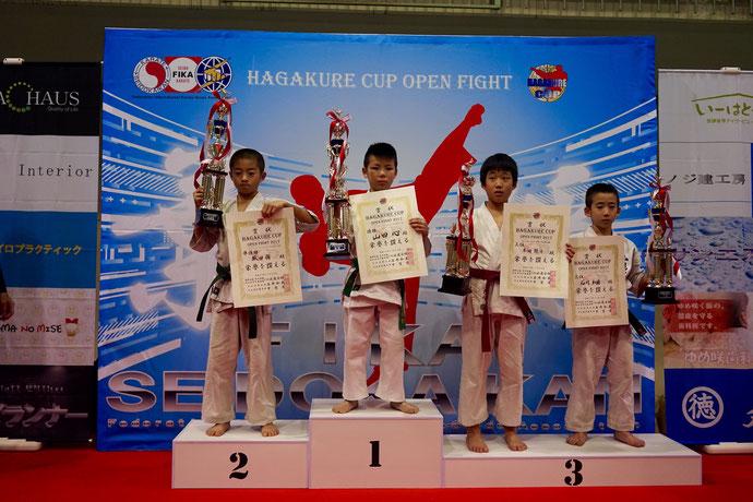 チャンピオンクラス 小学4年男子 3位 石川和磨