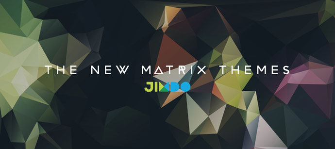 New Matrix themes - Jimdo