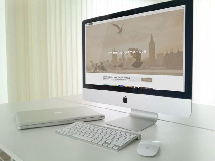 New Jimdo Template Holborn Official Website