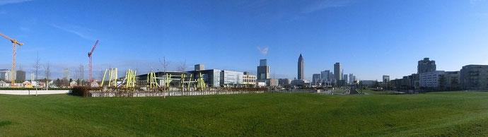 Frankfurt am Main - Gallus - Am Europagarten - Pariser Str. / Europa Allee
