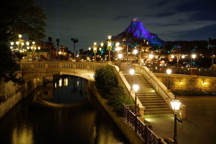 ディズニーシーの夜景2