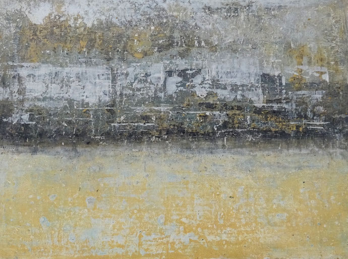 """ Spring "" - Acrylic on canvas - 35H x 50W x 2cm"