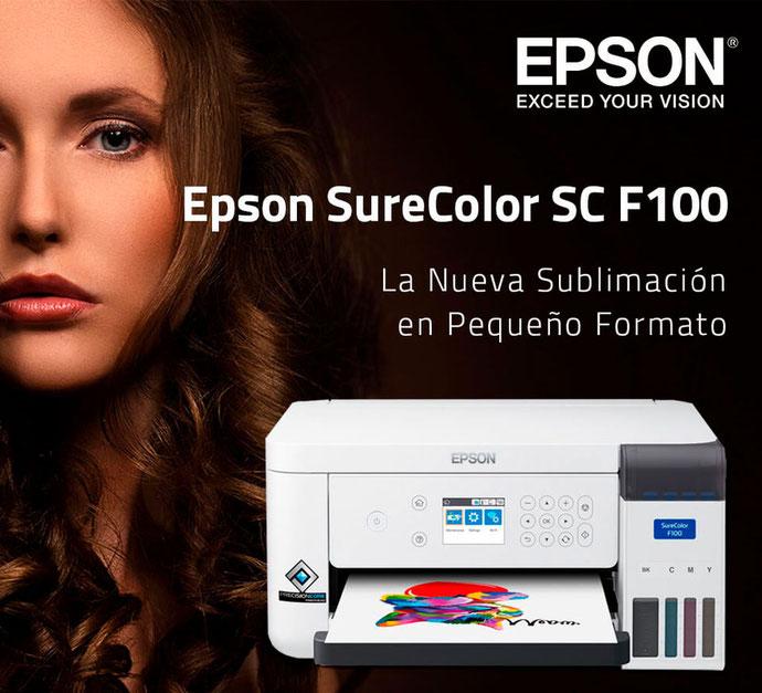 Impresora de sublimación Epson SC F-100