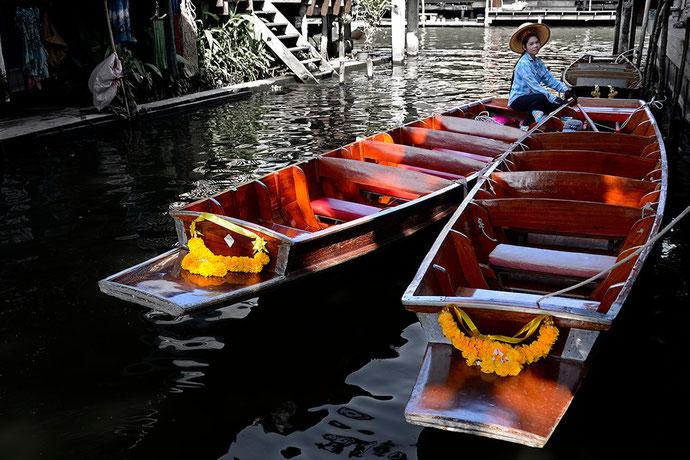 Thaïlande - Damnoen Saduak, le marché flottant