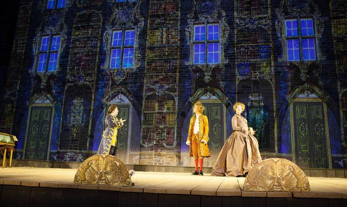 Photo Wolfgang Amadeus Mozart sur scène