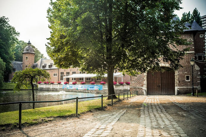 Photo du château de Karreveld lors du festival Bruxellons