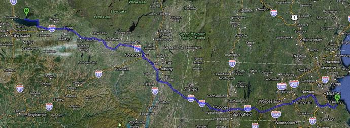 Erster Teil (550 km)