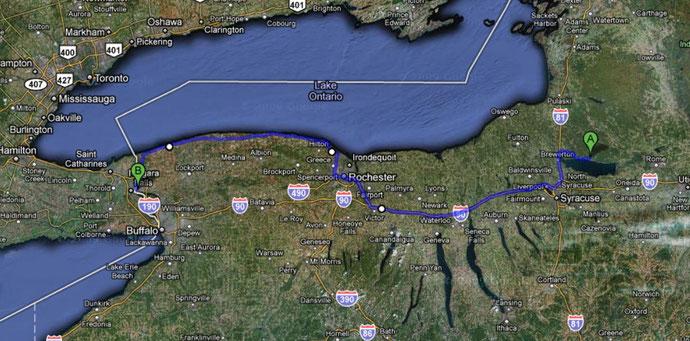 Zweiter Teil (270 Km)