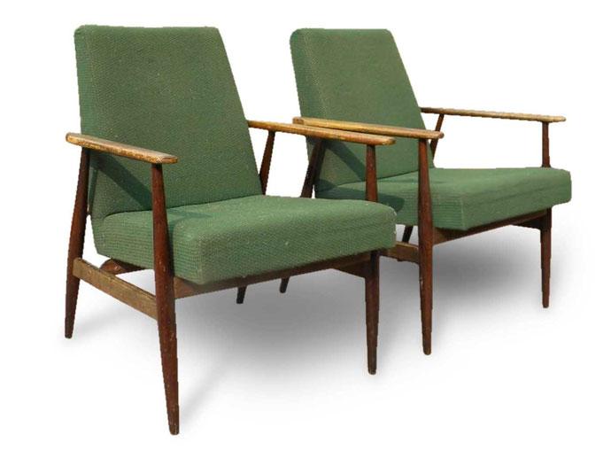 Poltrone Vintage anni 50 Scandinavian design