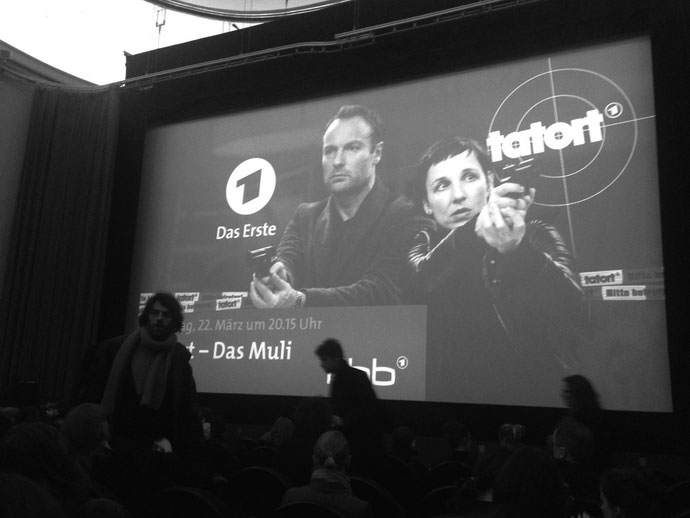 Tatort Premier in Kino Babylon in Berlin.
