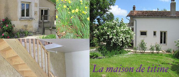 maison à louer pour les vacances à Montreuil Bonnin 86