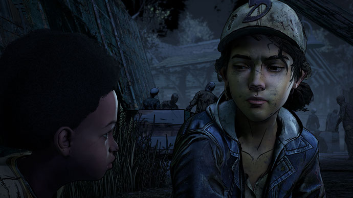 The Walking Dead: The Final Season, The Walking Dead, Telltale, AJ and Clem, AJ, Clem, Clementine, TWD, Skybound Games, Take Us Back