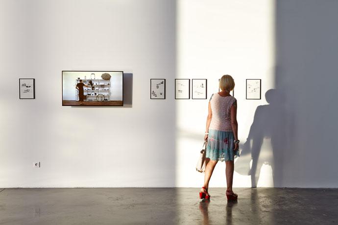 Interprétations à l'oeuvre, Astérides, Panorama, Friche Belle de Mai © Jeanchristophe Lett