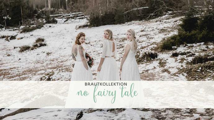 natürliche Brautkleider aus Baumwolle - bio, fairtrade & nachhaltig - elementar Brautkleider 2020 - NO FAIRY TALE - schlicht, boho und lässig