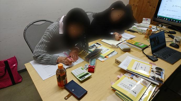 札幌開催 リテールマーケティング(販売士)検定 1級 勉強会の様子