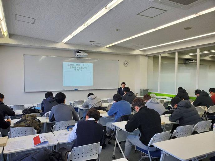 札幌国際大学 2級販売士 3級販売士 養成講習会の様子