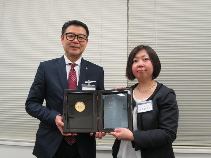 2018年度登録講師入賞論文・優秀作 表彰式の様子