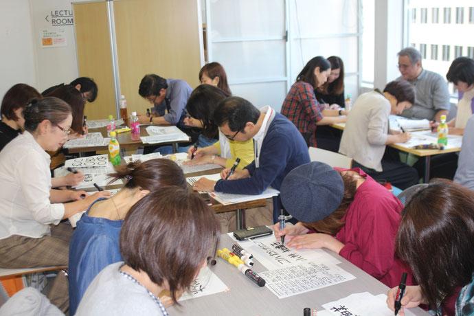 札幌・手描きPOP講座②(ちとせ販売士会主催)