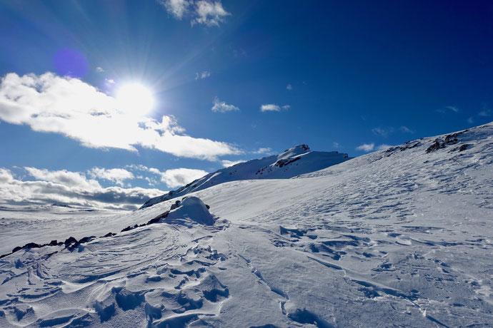 Skitour, Arosa, Graubünden, Bünderland, Sandhubel, Valbellahorn, Alteinsee, Schiesshorn
