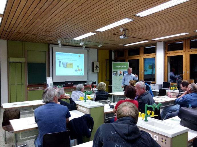 Vortrag durch iKratos Geschäftsführer Willi Harhammer im Rahmen der Klimaschutzwoche 2019