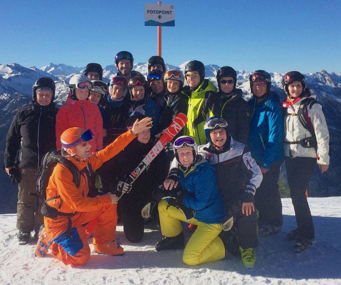 Skitest Dez. 2015, Fulseck, Dorfgastein
